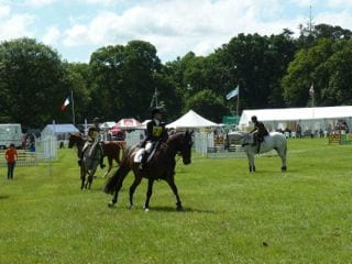 Horse trials at Hutton-in-the-Forest